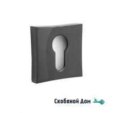 Накладка квадрат на цилинрд к ручкам ORO&ORO, антрацит