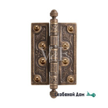 Петля латунная VAL DE FIORI, бронза состаренная VDF 102- 4BB CH OB