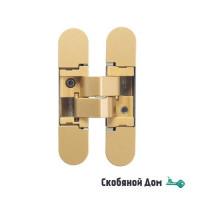 Дверная петля скрытая универсальная Venezia P101-G матовое золото