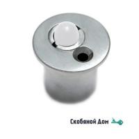 Защелка роликовая для стеклянных дверей ACV029 матовый хром