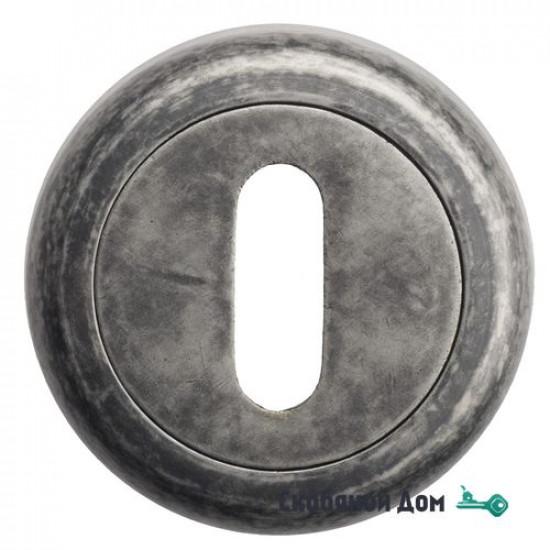Накладка дверная под ключ буратино Venezia KEY-1 D1 античное серебро