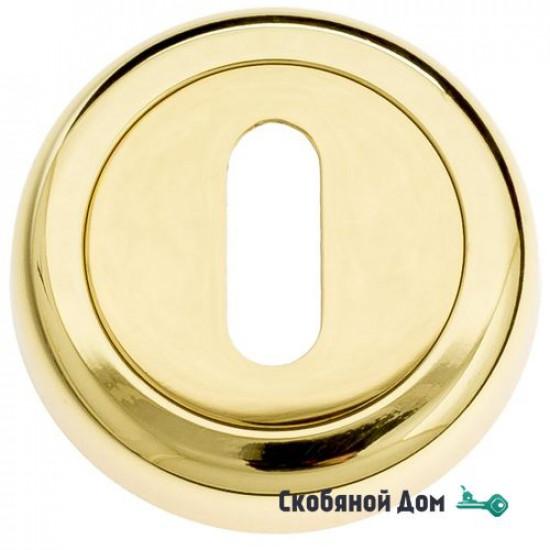Накладка дверная под ключ буратино Venezia KEY-1 D1 полированная латунь