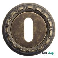 Накладка дверная под ключ буратино Venezia KEY-1 D2 античная бронза