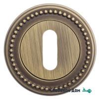 Накладка дверная под ключ буратино Venezia KEY-1 D3 матовая бронза