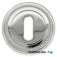 Накладка дверная под ключ буратино Venezia KEY-1 D3 полированный хром