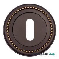 Накладка дверная под ключ буратино Venezia KEY-1 D3 темная бронза
