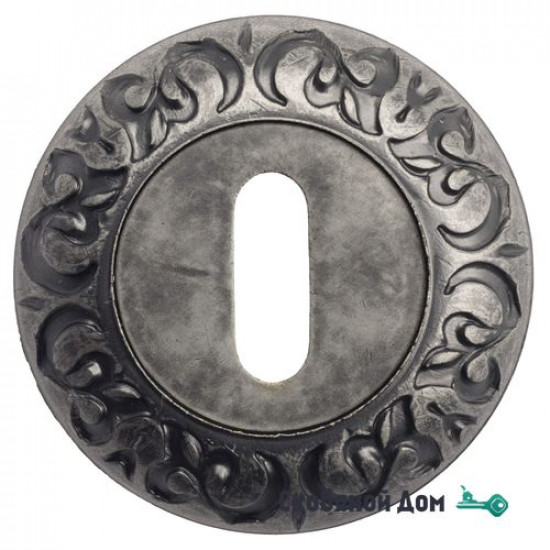 Накладка дверная под ключ буратино Venezia KEY-1 D4 античное серебро