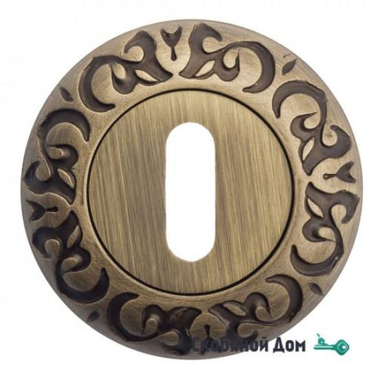 Накладка дверная под ключ буратино Venezia KEY-1 D4 матовая бронза