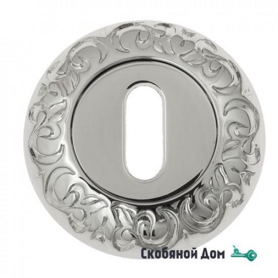 Накладка дверная под ключ буратино Venezia KEY-1 D4 полированный хром