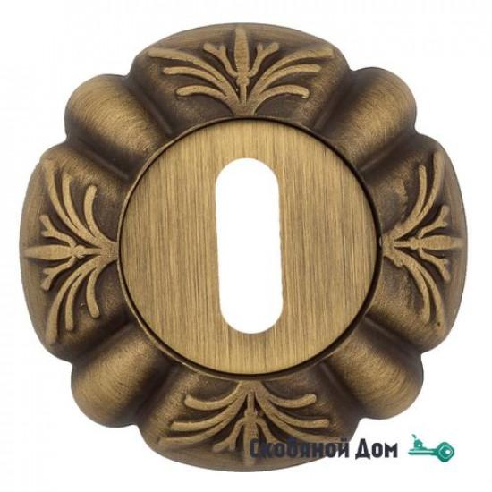 Накладка дверная под ключ буратино Venezia KEY-1 D5 матовая бронза