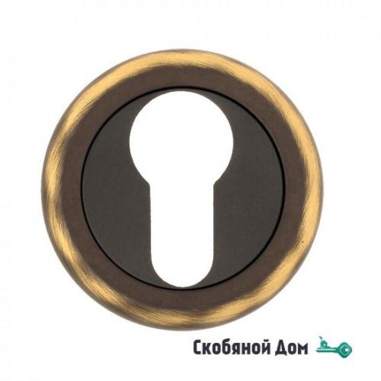 Накладка дверная под цилиндр Venezia CYL-1 D1 темная бронза