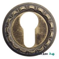 Накладка дверная под цилиндр Venezia CYL-1 D2 античная бронза