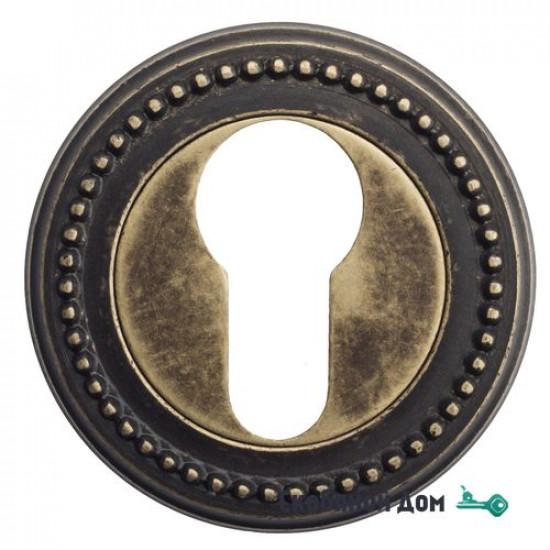 Накладка дверная под цилиндр Venezia CYL-1 D3 античная бронза
