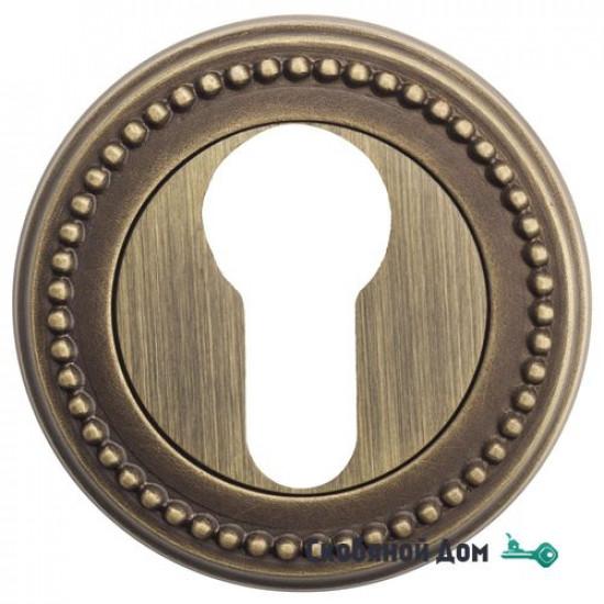 Накладка дверная под цилиндр Venezia CYL-1 D3 матовая бронза