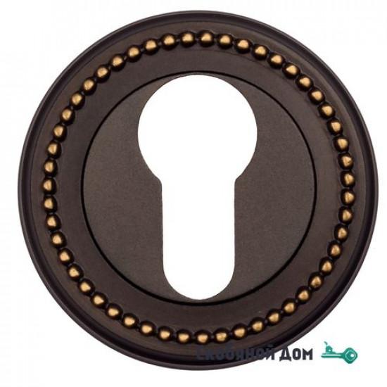 Накладка дверная под цилиндр Venezia CYL-1 D3 темная бронза