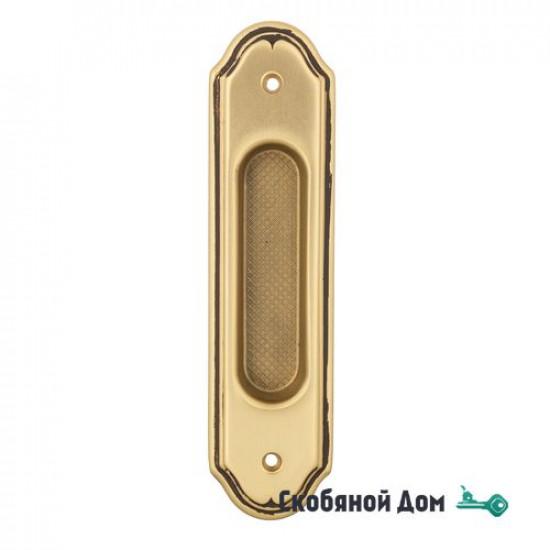 Ручка для раздвижной двери Venezia U111 французское золото + коричневый (1шт.)