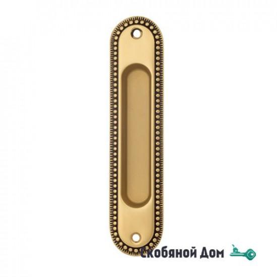 Ручка для раздвижной двери Venezia U133 французское золото + коричневый (1шт.)