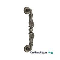 """Ручка скоба Venezia """"FLORENCE"""" 310мм (260мм) D1 античное серебро"""