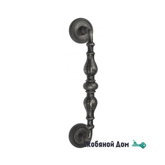 """Ручка скоба Venezia """"GIFESTION"""" 285мм (230мм) D3 античное серебро"""