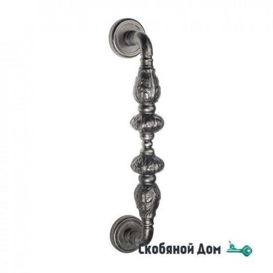 """Ручка скоба Venezia """"LUCRECIA"""" 300мм (250мм) D1 античное серебро"""