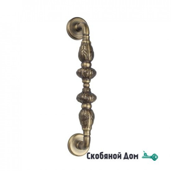 "Ручка скоба Venezia ""LUCRECIA"" 300мм (250мм) D1 матовая бронза"