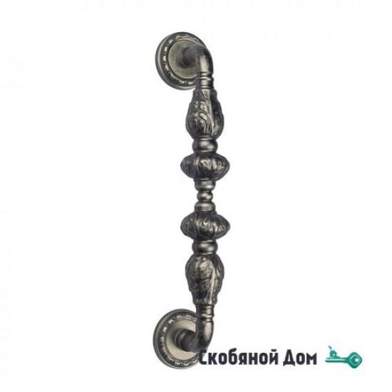 """Ручка скоба Venezia """"LUCRECIA"""" 303мм (250мм) D2 античное серебро"""