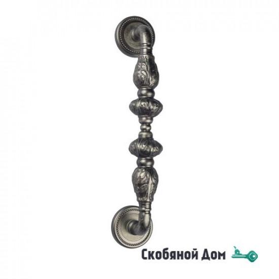 """Ручка скоба Venezia """"LUCRECIA"""" 305мм (250мм) D3 античное серебро"""