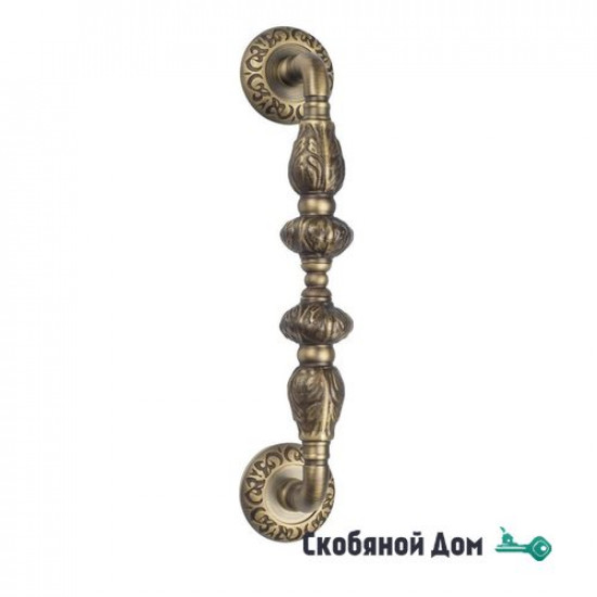 "Ручка скоба Venezia ""LUCRECIA"" 310мм (250мм) D4 матовая бронза"