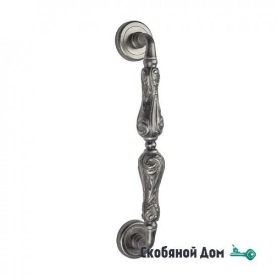 """Ручка скоба Venezia """"MONTE CRISTO"""" 310мм (260мм) D1 античное серебро"""