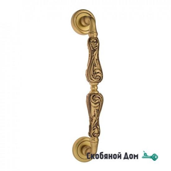 """Ручка скоба Venezia """"MONTE CRISTO"""" 310мм (260мм) D1 французское золото"""