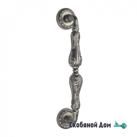 """Ручка скоба Venezia """"MONTE CRISTO"""" 313мм (260мм) D2 античное серебро"""