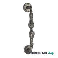 """Ручка скоба Venezia """"MONTE CRISTO"""" 315мм (260мм) D3 античное серебро"""