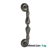 """Ручка скоба Venezia """"MONTE CRISTO"""" 320мм (260мм) D4 античное серебро"""
