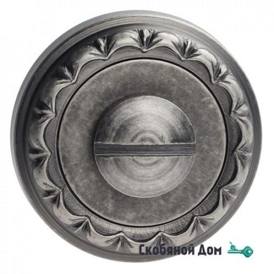 Фиксатор поворотный Venezia WC-1 D2 античное серебро