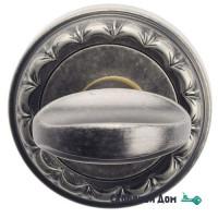 Фиксатор поворотный Venezia WC-2 D2 античное серебро