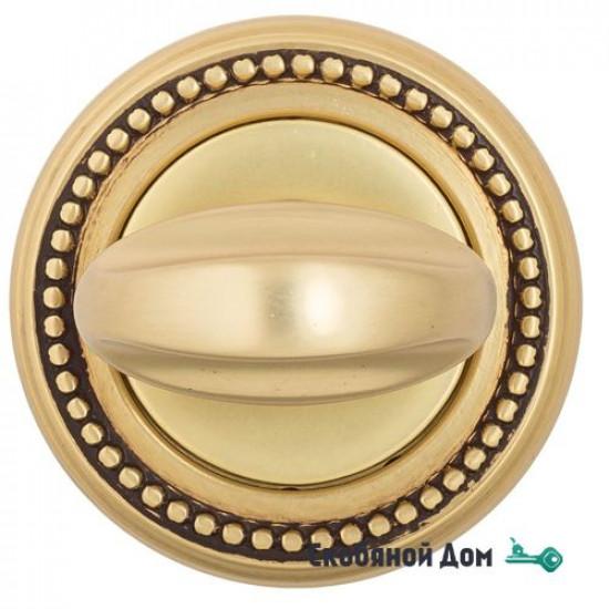 Фиксатор поворотный Venezia WC-2 D3 французское золото + коричневый