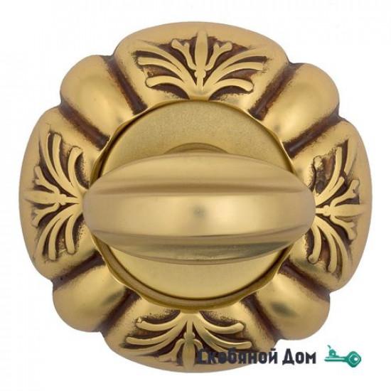 Фиксатор поворотный Venezia WC-2 D5 французское золото + коричневый