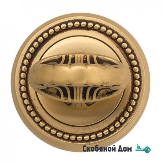 Фиксатор поворотный Venezia WC-4 D3 французское золото + коричневый
