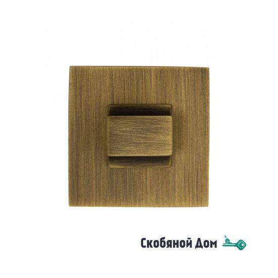 Фиксатор поворотный квадратный Venezia Unique WC-20 матовая бронза