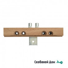 4CA87AR1416.01 Шаблон для установки ввертных петель Ø14,16 для дверей с притвором/четвертью