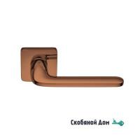 Дверная ручка на квадратном основании COLOMBO Roboquattro S ID 51 RSB винтаж