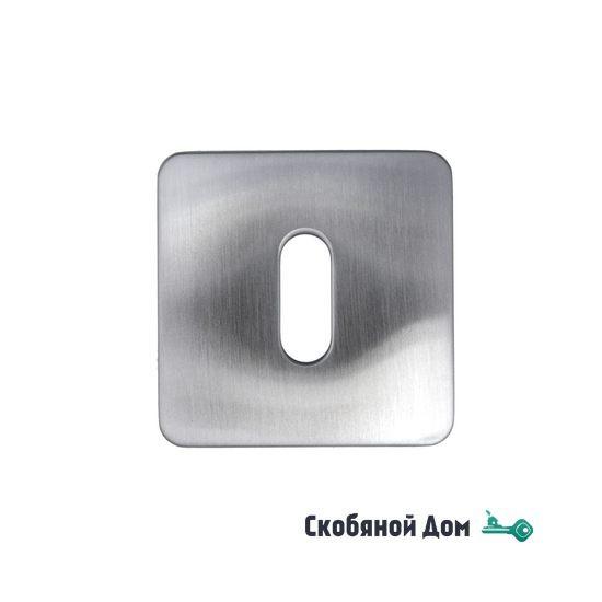 Накладка под ключ буратино на квадратном основании COLOMBO PT13BB матовый хром