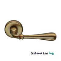 Дверная ручка на круглом основании COLOMBO Ida ID 31 RSB матовая бронза
