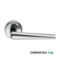 Дверная ручка на круглом основании COLOMBO Robotre CD91 RSB полированный хром