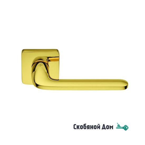 Дверная ручка на квадратном основании COLOMBO Roboquattro S ID 51 RSB полированная латунь