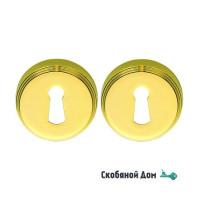 Накладка под цилиндр на круглом основании COLOMBO CD1003Y полированная латунь