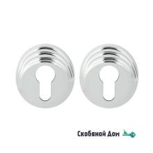 Накладка под цилиндр на круглом основании COLOMBO DB 13 Y полированный хром