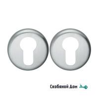 Накладка под цилиндр на круглом основании COLOMBO FF 13 Y матовый хром