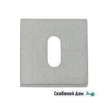 Накладка под ключ буратино на квадратном основании COLOMBO MM13BB полированный хром