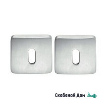 Накладка под ключ буратино на квадратном основании COLOMBO MM13BB матовый хром